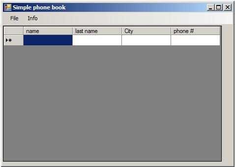How to Create Simple Phone Book Application C#: 7 Steps