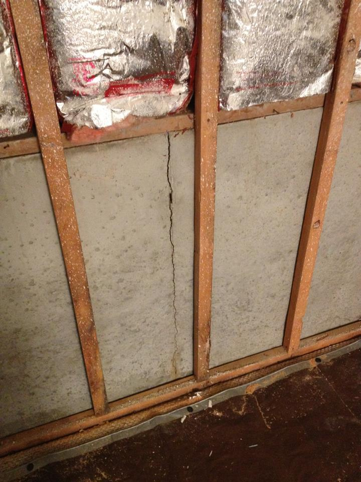 Picture of Basement Wall Overhaul