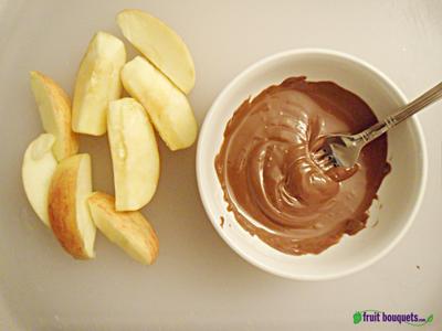 Dip Apples in Chocolate
