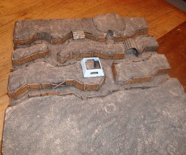 WWI Trench Model