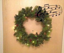 Singing Holiday Wreath