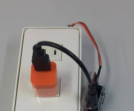 Web controlled socket by Arduino