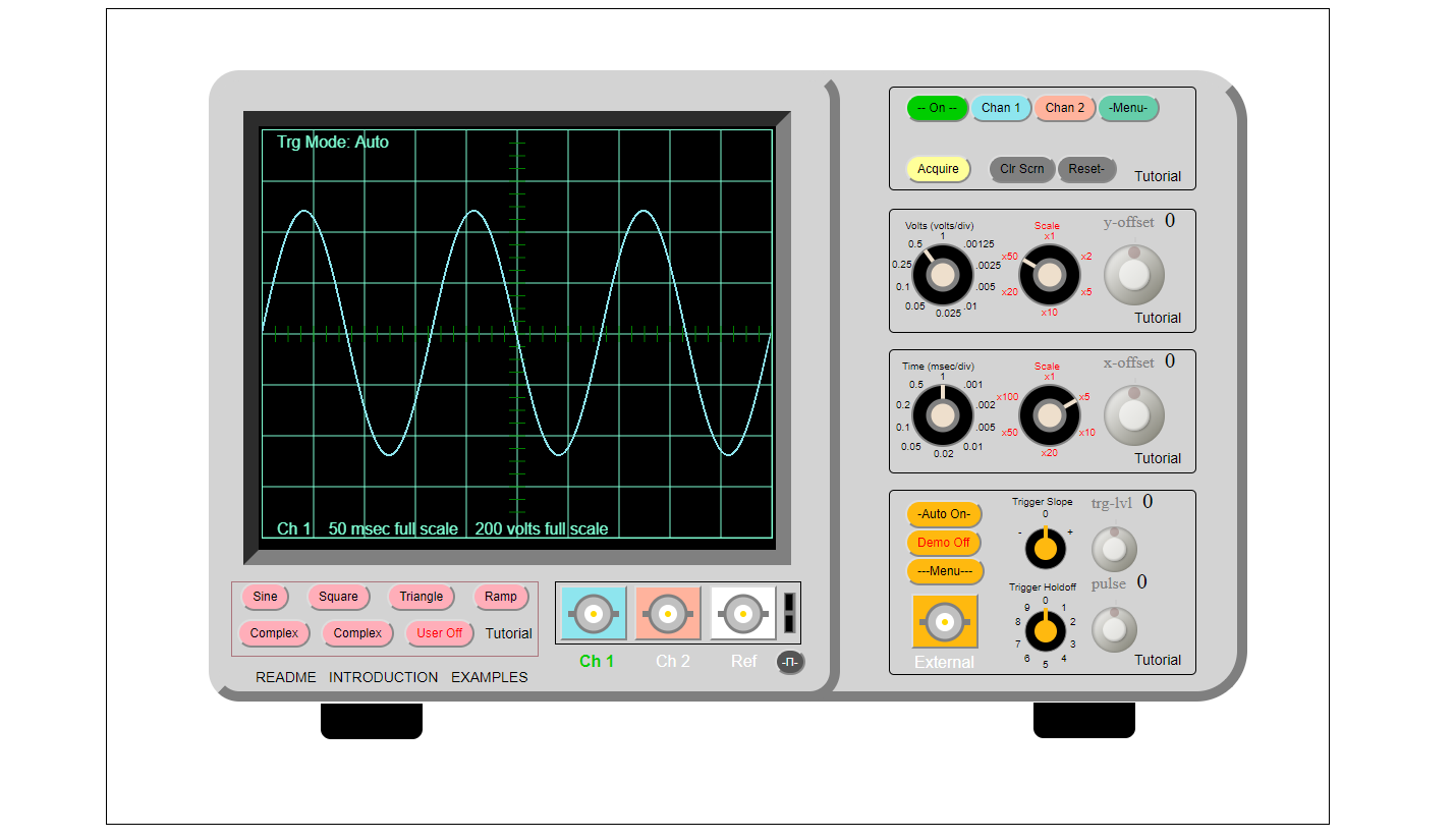Picture of Exercise #1 - Scale and Measure a Signal