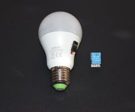 NeoBulb (Neopixel bulb with sensor)