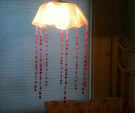 LP Record/Jellyfish Lamp