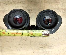 Narrowing the IPD of the Celestron Cometron 7x50 Binoculars