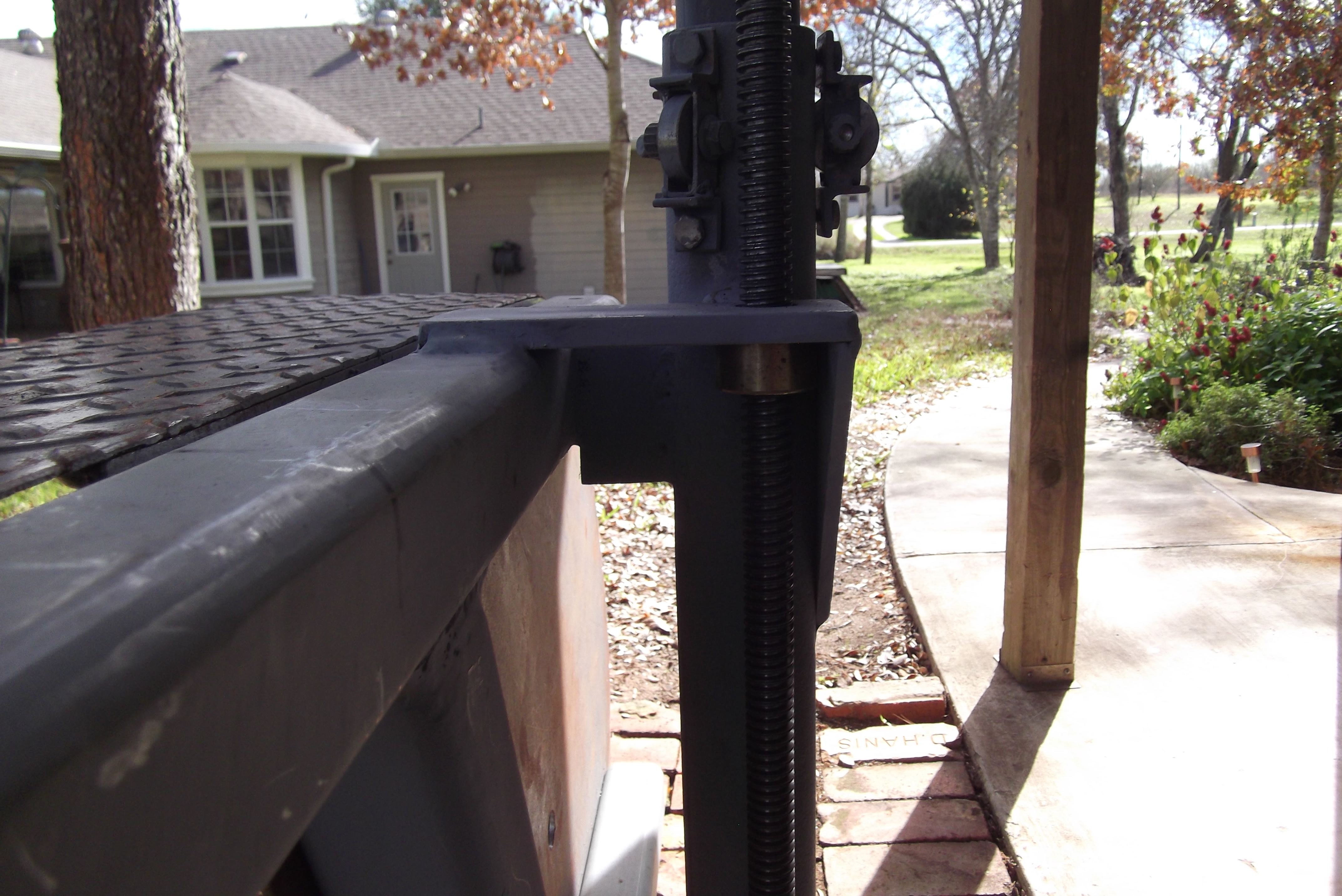 Picture of Leadscrew Setup
