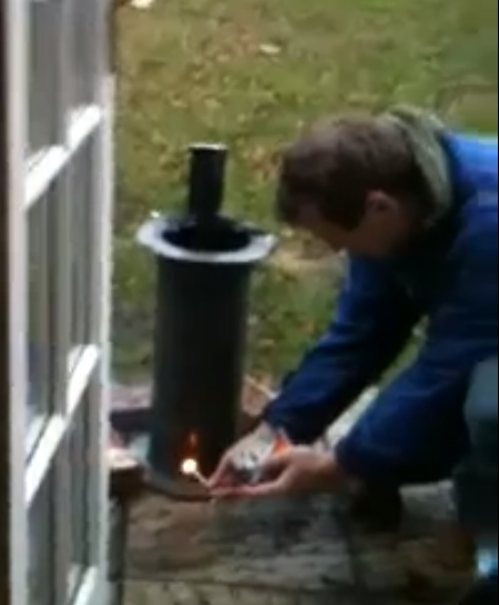 Picture of Step 5: Firing Your Mortar