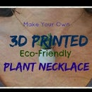3D Printed Sprouting Plant Necklace
