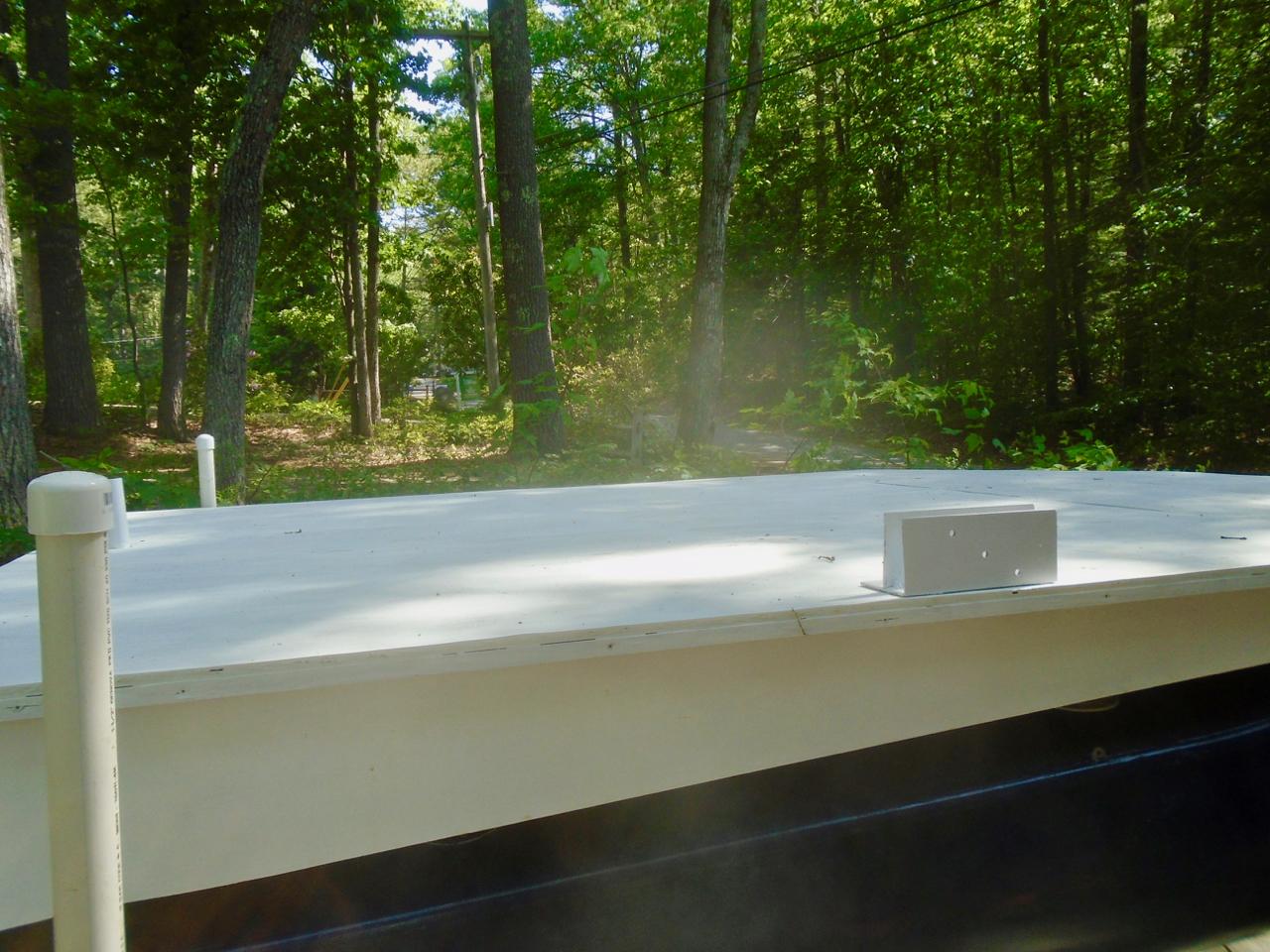 Picture of Float Test, Added Buoyancy, Deck Primer, Trailer Additions