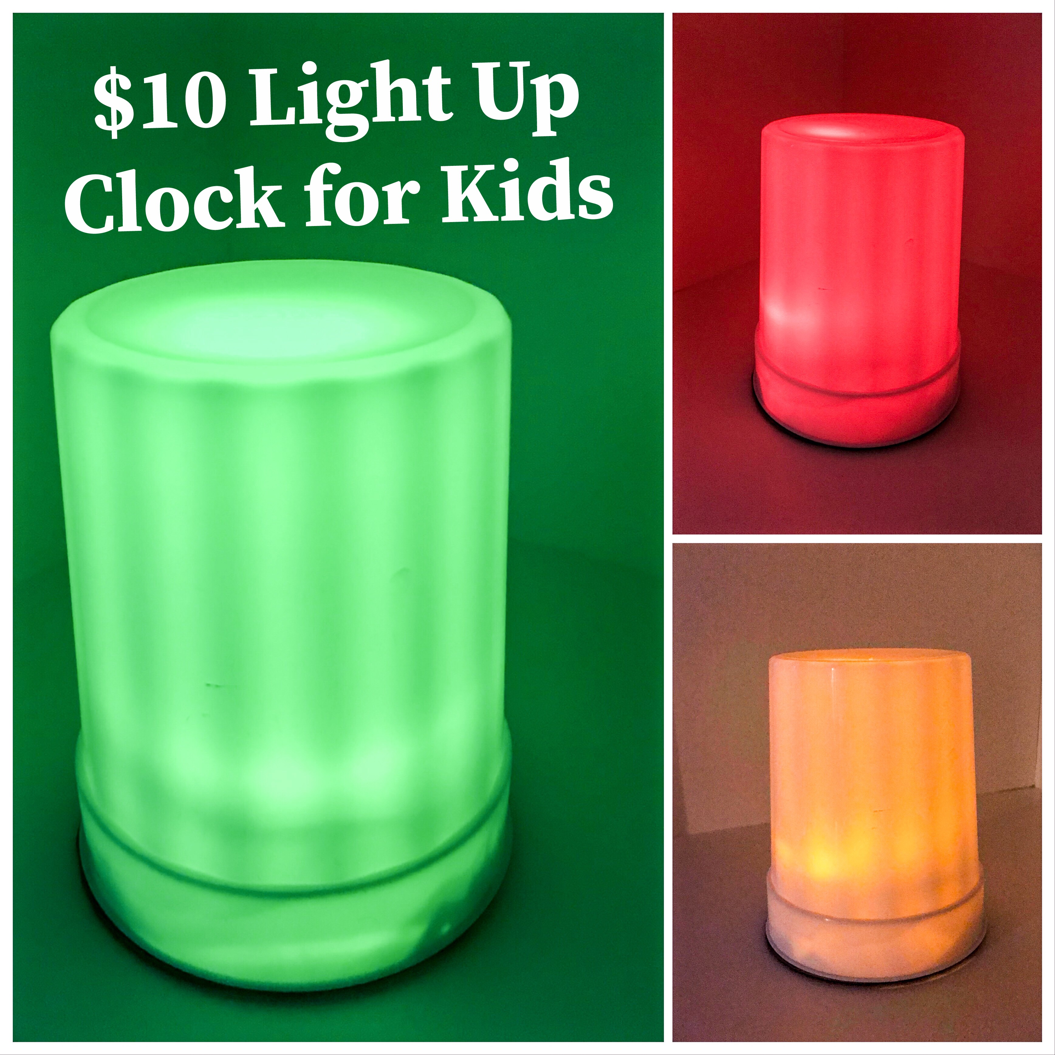 Picture of Green Means Go!  Red, Stay in BED!!! Light Up Clock for Kids