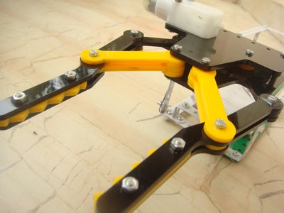 Assemble the Robotic Claw