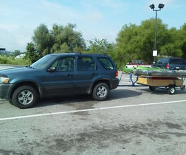 How to turn a harbor freight trailer into a Kayak/Camping trailer