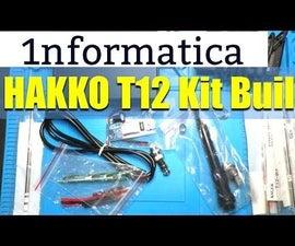 HAKKO T12 Temperature Controlled Soldering Iron Kit