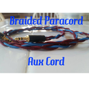 Braided Paracord Auxiliary Cable (Aux Cord)