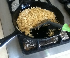 Ramen Noodles Stir Fry