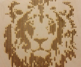 How to Make Halftone Vectors for Lasercutting (Method 2)