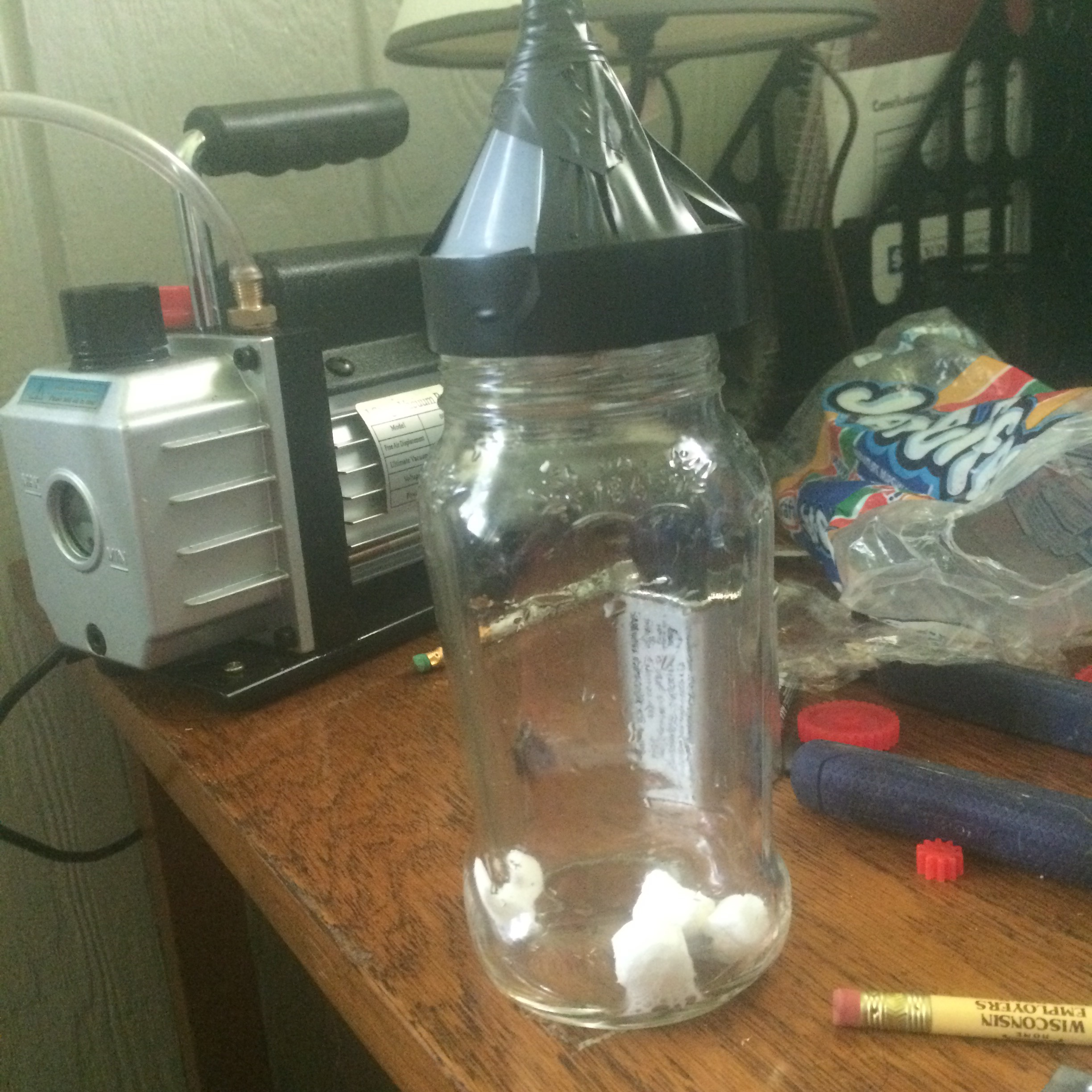 Picture of Most Easy 5min Vacuum Chamber