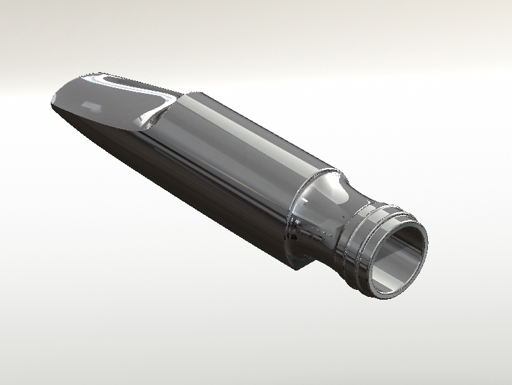 Picture of 3D Printed Tenor Saxophone Mouthpiece