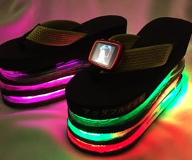 Blade Runner Harajuku Light Up Sandals