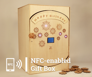 NFC Gift Box for Birthday Party