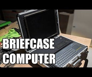 Briefcase Computer With Raspberry Pi