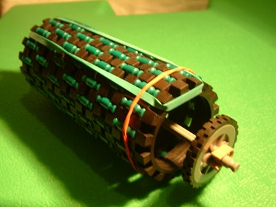 Knex Tyre Cannon