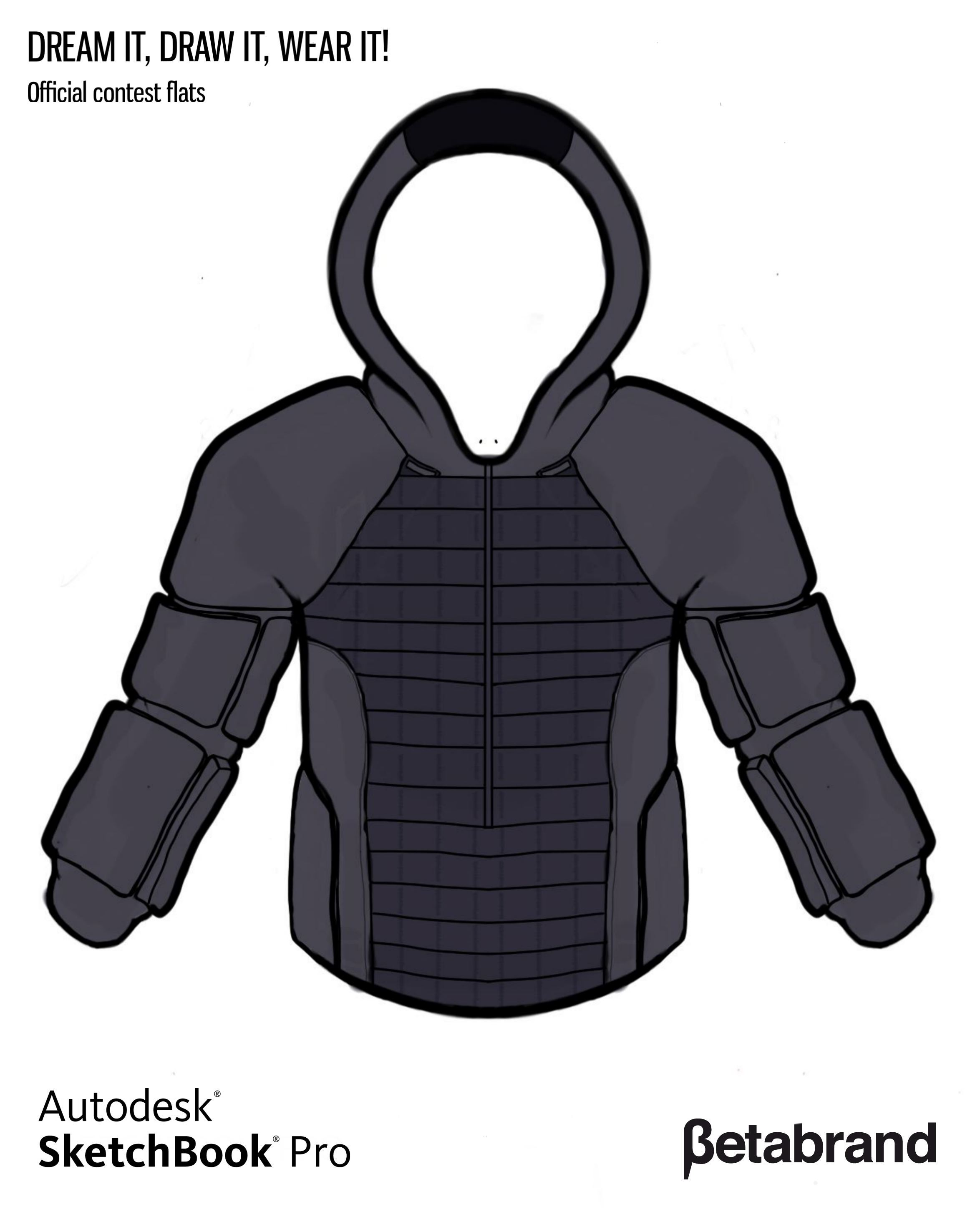 Picture of Detailed Description of Hoodie [Front]
