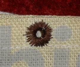 Replace eyelets by sewing
