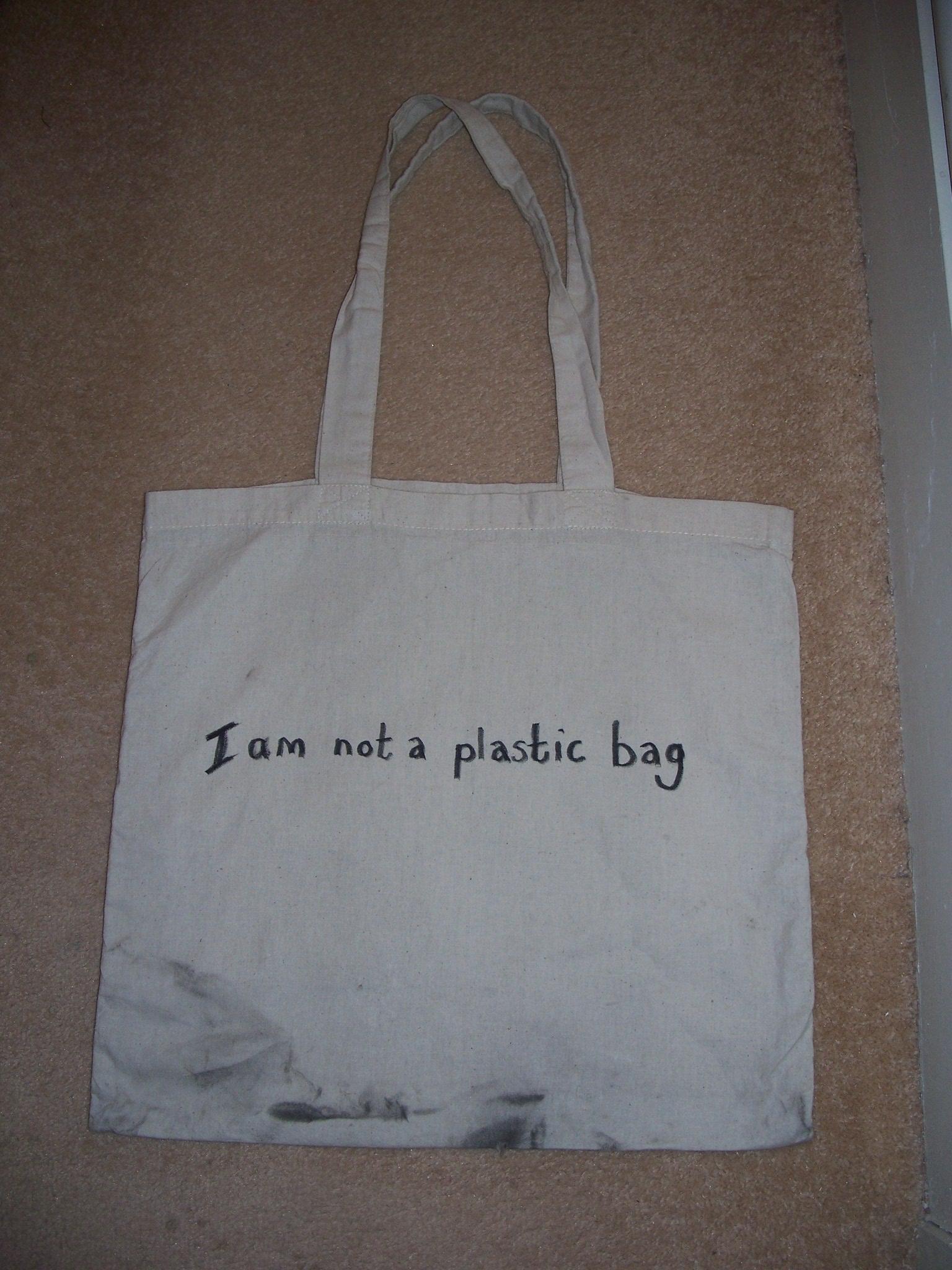 I Am Not a Plastic Bag: 3 Steps