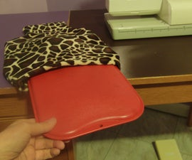 Fuzzy Cover for a Hot Water Bottle