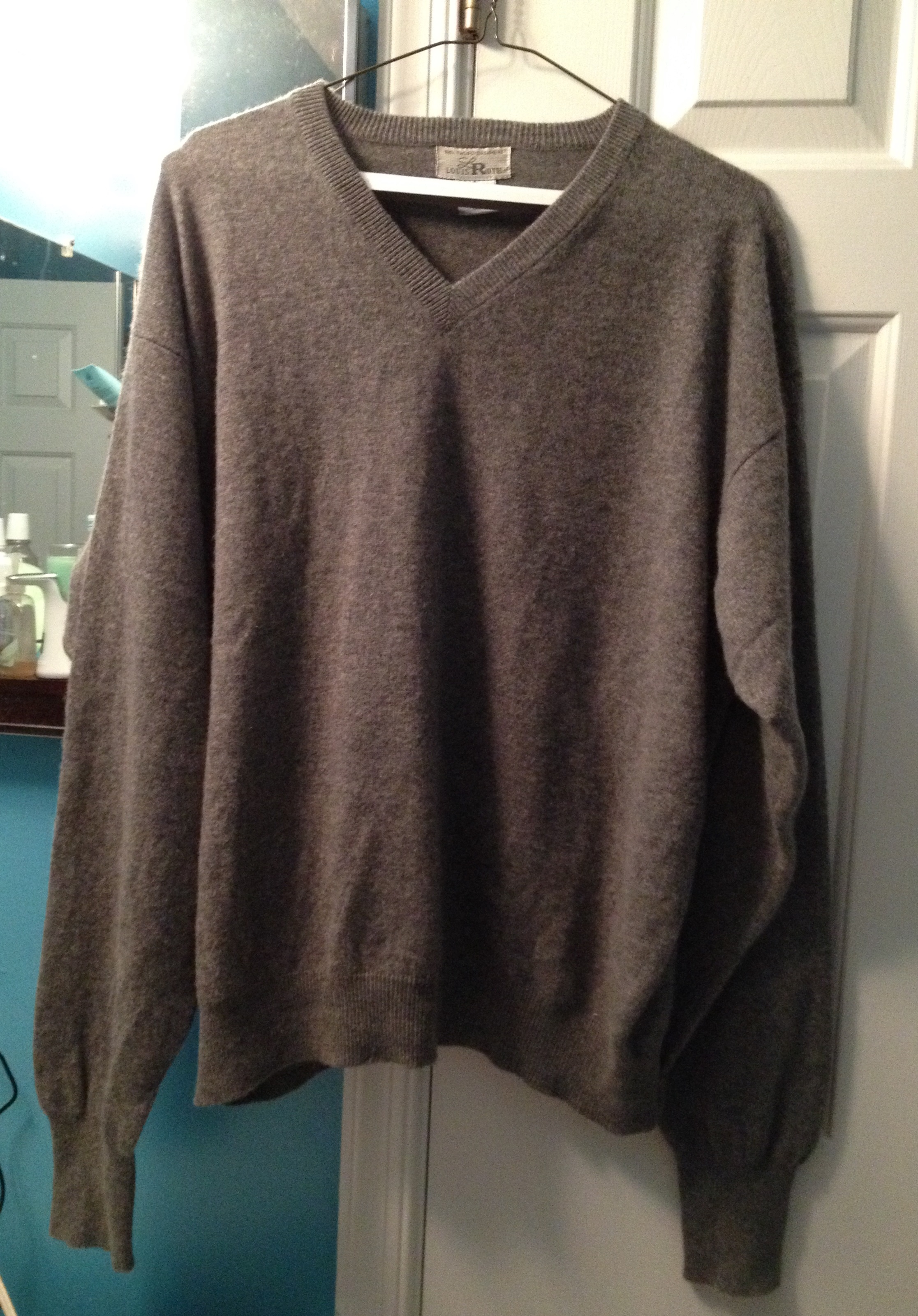 Mend and Make Do: Repairing Small Moth Holes in a Cashmere