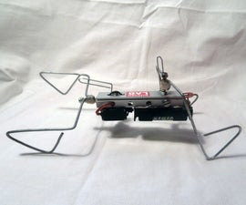 How to make the one motor walker (without bicore)
