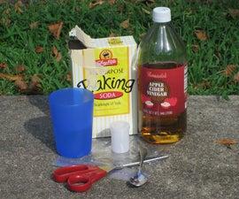 Vinegar/Baking Soda Grenade