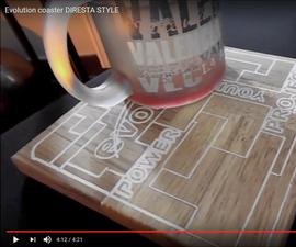 Diy Evolution Coaster (Diresta Speed Inspired)