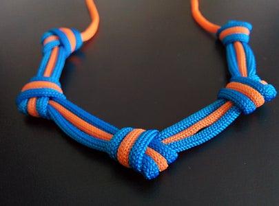 A Minimalist's Paracord Necklace