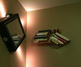 Bungee Cord Book Shelf