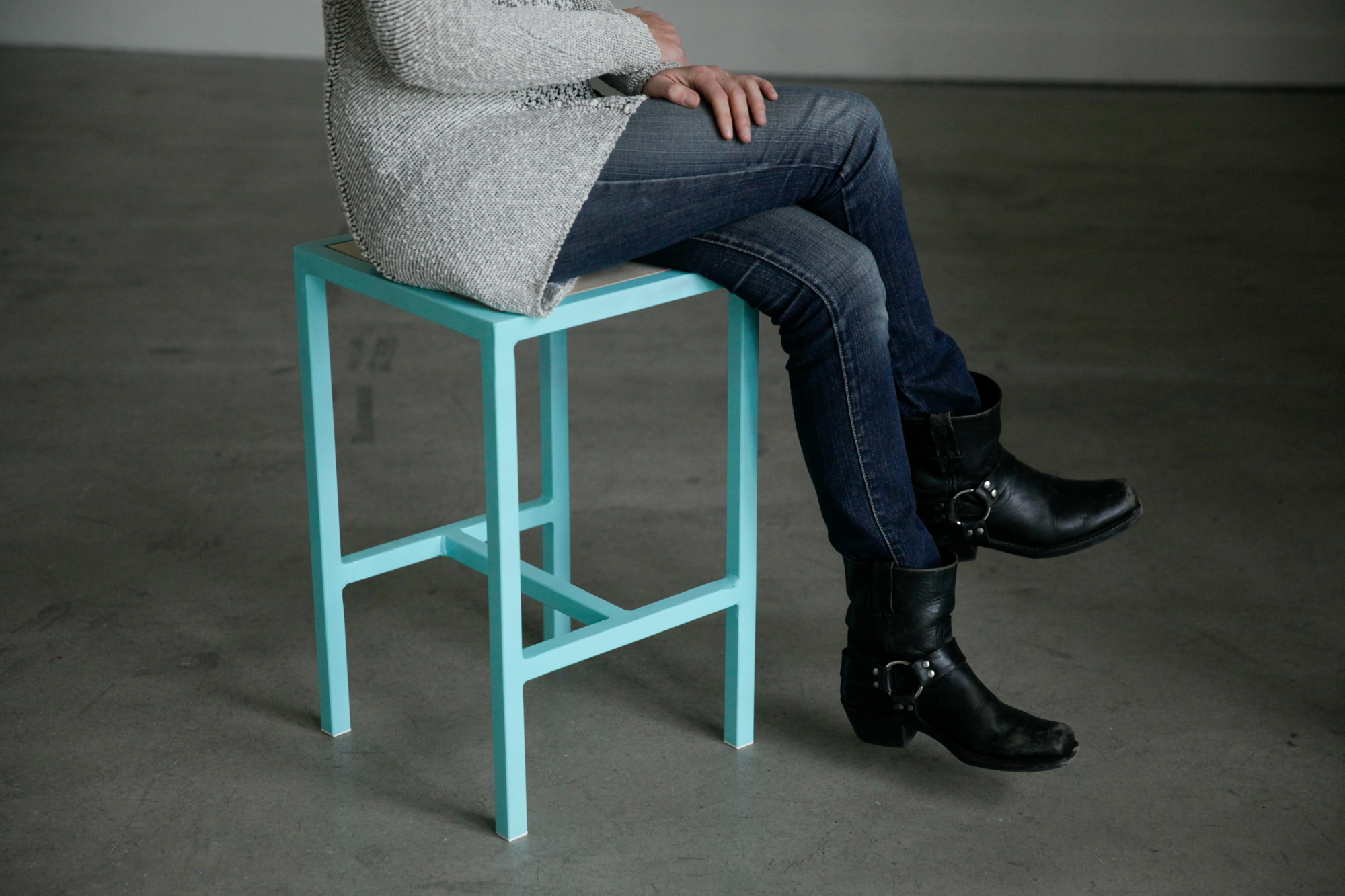 Picture of Simple Welded Steel Stools