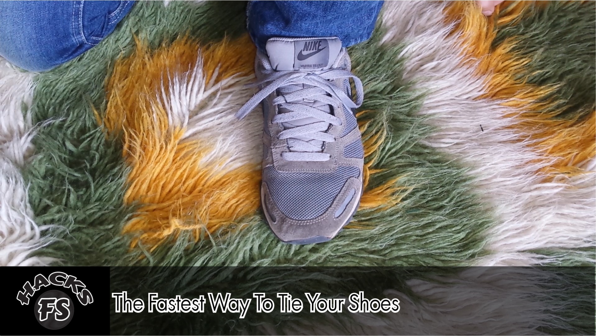 Picture of The Fastest Way to Tie Your Shoes