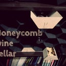 Honeycomb wine cellar