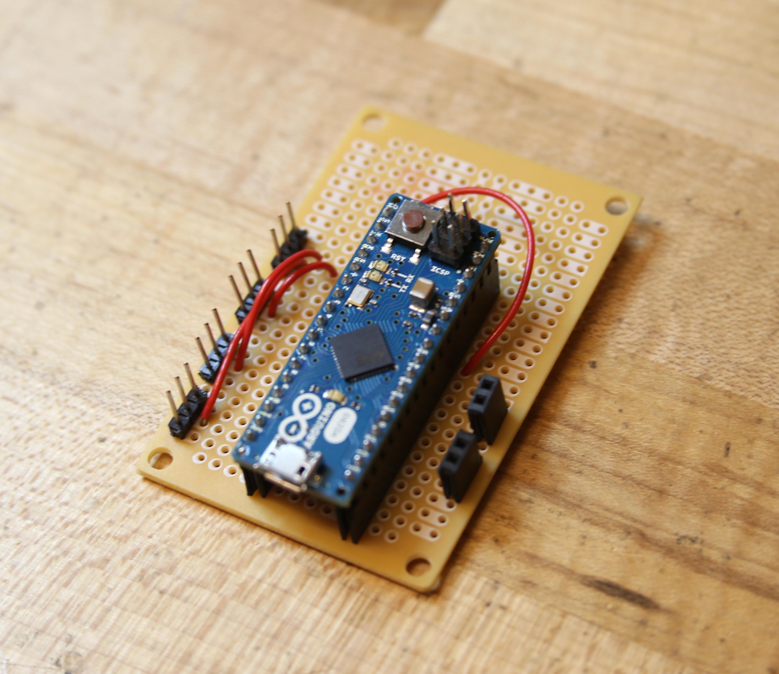Picture of Preparing the Protoboard