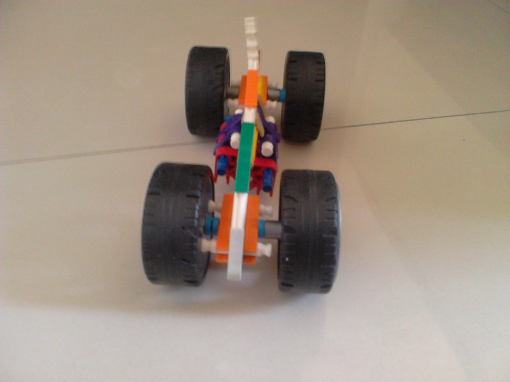 Picture of Knex Hot Rod Car