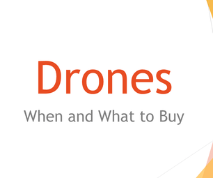 When and What to Buy for Drone Parts
