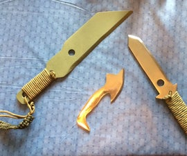 Make A Lawn mower Blade Knife