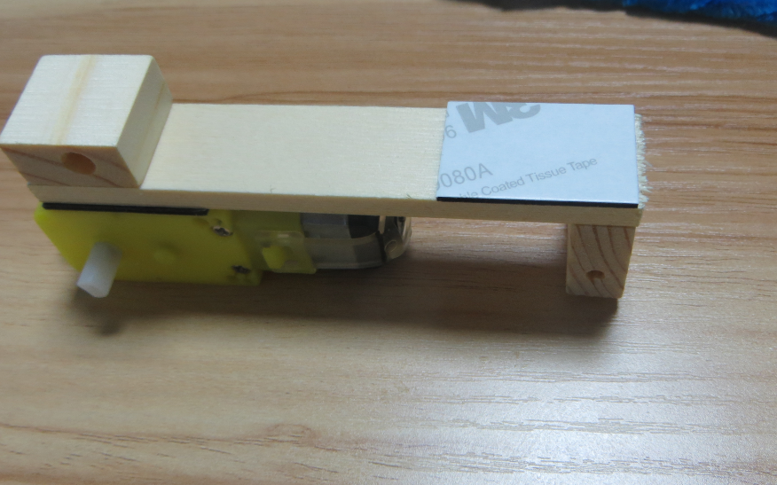 Picture of Make the Remaining Sticker Adhere to the Wooden Frame