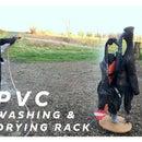 PVC Washing & Drying Rack