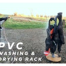 PVC Washing & Drying Rack