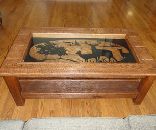 Hunting Camp Coffee Table