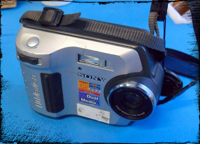 Picture of The Digital Parts From an Old Sony Mavica MVC-FD 200