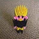 3d origami dude